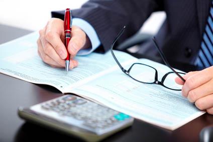 Accountant businessman.